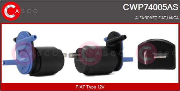 Pompe de lave-glace CASCO CWP74005AS (X1)