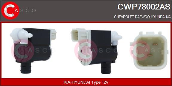 Pompe de lave-glace CASCO CWP78002AS (X1)