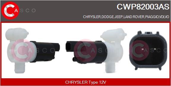 Pompe de lave-glace CASCO CWP82003AS (X1)
