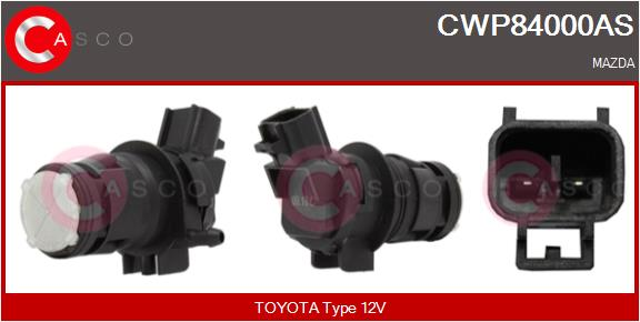 Pompe de lave-glace CASCO CWP84000AS (X1)