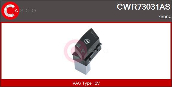 Interrupteur, leve-vitre CASCO CWR73031AS (X1)