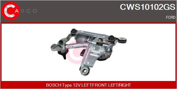 Mecanismes d'essuie glace CASCO CWS10102GS (X1)