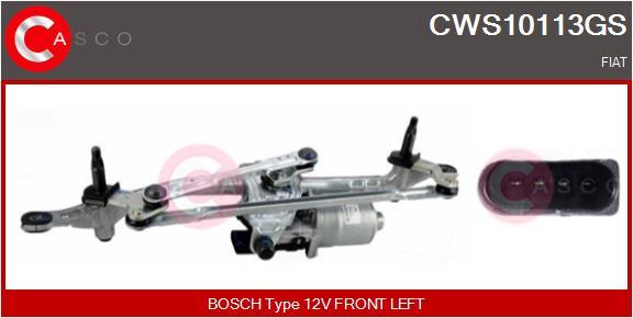 Mecanismes d'essuie glace CASCO CWS10113GS (X1)
