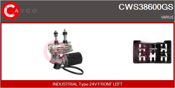 Mecanismes d'essuie glace CASCO CWS38600GS (X1)