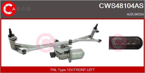 Mecanismes d'essuie glace CASCO CWS48104AS (X1)