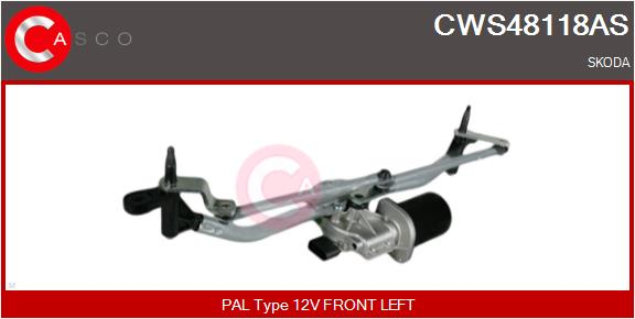 Mecanismes d'essuie glace CASCO CWS48118AS (X1)