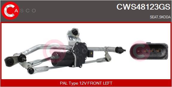 Mecanismes d'essuie glace CASCO CWS48123GS (X1)