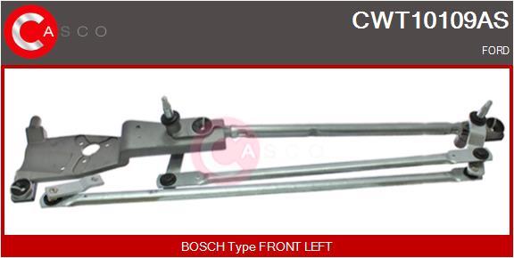 Mecanismes d'essuie glace CASCO CWT10109AS (X1)