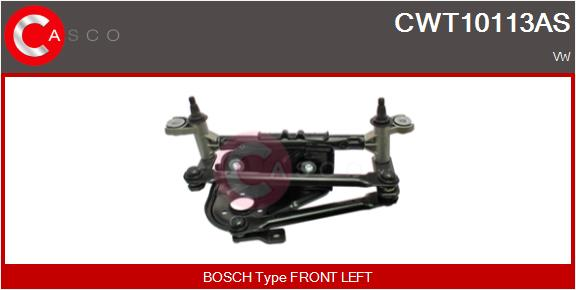 Mecanismes d'essuie glace CASCO CWT10113AS (X1)