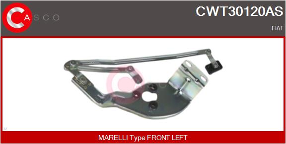 Mecanismes d'essuie glace CASCO CWT30120AS (X1)
