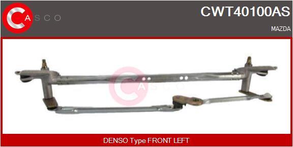 Mecanismes d'essuie glace CASCO CWT40100AS (X1)