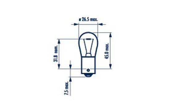 Ampoules NARVA 17635 (X1)
