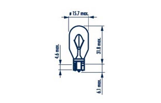Ampoules NARVA 17631 (X1)