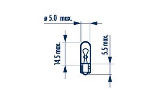 Ampoules NARVA 17073 (X1)