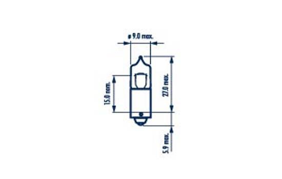 Ampoules NARVA 17830 (X1)