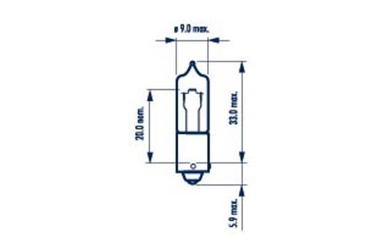 Ampoules NARVA 68191 (X1)