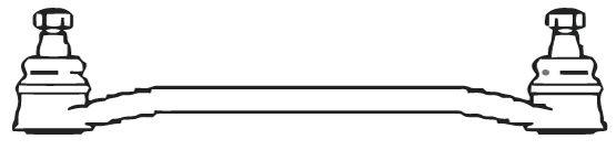 Biellette / rotule direction interieure FRAP F888 (X1)