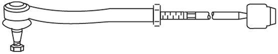 Biellette / rotule direction interieure FRAP FT/365 (X1)