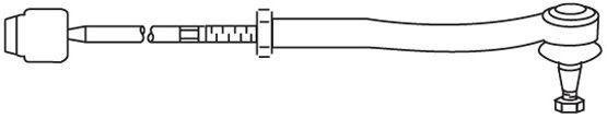 Biellette / rotule direction interieure FRAP FT/366 (X1)
