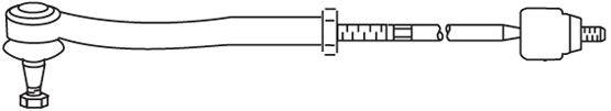 Biellette / rotule direction interieure FRAP FT/367 (X1)