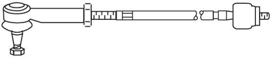 Biellette / rotule direction interieure FRAP FT/442 (X1)