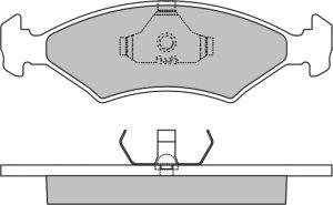 Sans Brouillard fictif Original GM//Opel Grille Ventilation utilisation pour pare-chocs F fzg