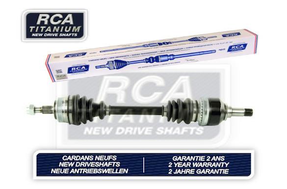 Cardans (arbre de transmission) RCA FRANCE AM124AN (X1)