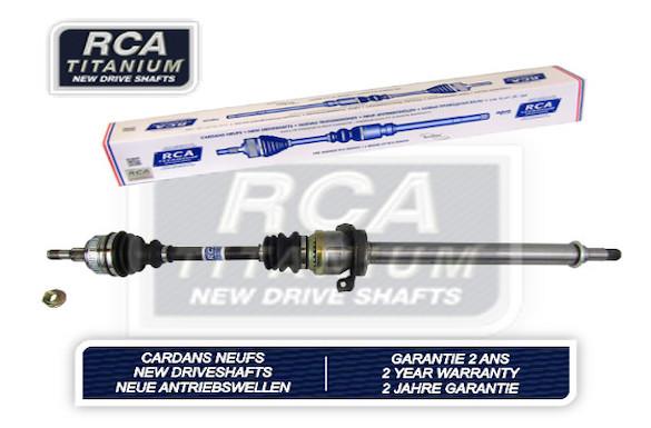 Cardans (arbre de transmission) RCA FRANCE AM124DAN (X1)