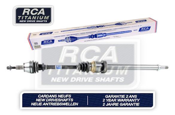 Cardans (arbre de transmission) RCA FRANCE AM402A1N (X1)
