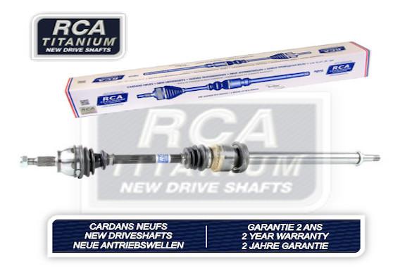 Cardans (arbre de transmission) RCA FRANCE AM406A2N (X1)