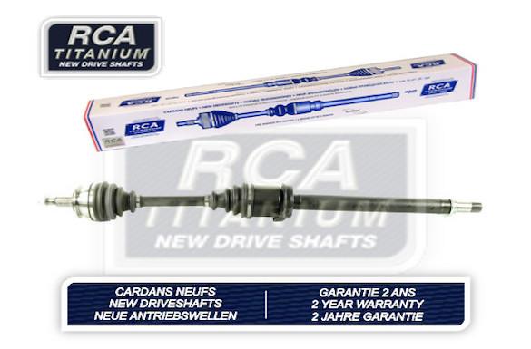 Cardans (arbre de transmission) RCA FRANCE AM404A2N (X1)