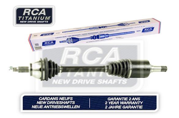 Cardans (arbre de transmission) RCA FRANCE AM405A2N (X1)