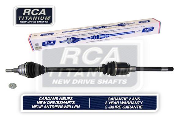 Cardans (arbre de transmission) RCA FRANCE AM923AN (X1)