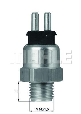 Interrupteur de temperature, ventilateur de radiateur BEHR TSW 5D (X1)