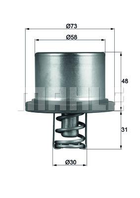 Thermostat/calorstat BEHR THD 2 89 (X1)