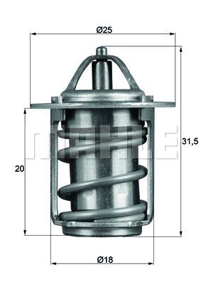 Thermostat/calorstat BEHR TX 6 83 (X1)