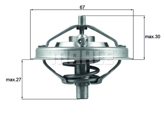 Thermostat/calorstat BEHR THD 1 82 (X1)