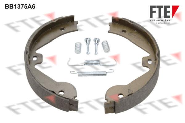Jeu de mâchoires de frein de frein à main FTE BB1375A6 (X1)
