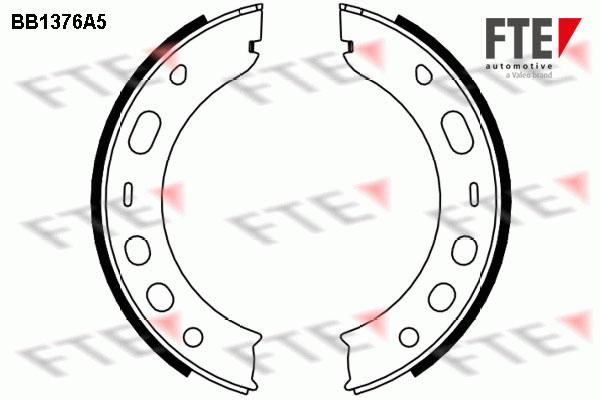 Jeu de mâchoires de frein de frein à main FTE BB1376A5 (X1)