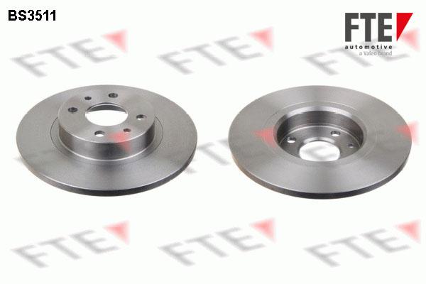 Disque de frein FTE BS3511 (X1)