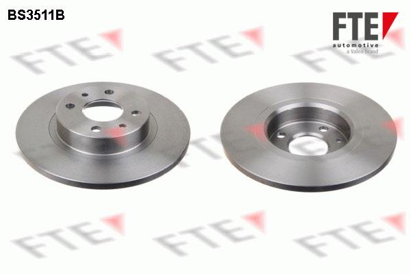 Disque de frein FTE BS3511B (X1)