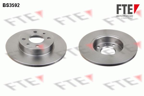 Disque de frein FTE BS3592 (X1)