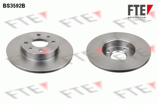 Disque de frein FTE BS3592B (X1)
