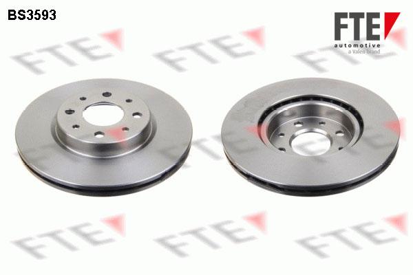 Disque de frein avant FTE BS3593 (X1)