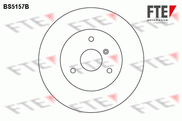 Disque de frein avant FTE BS5157B (X1)