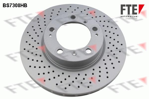 Disque de frein avant FTE BS7308HB (X1)