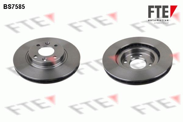 Disque de frein avant FTE BS7585 (X1)