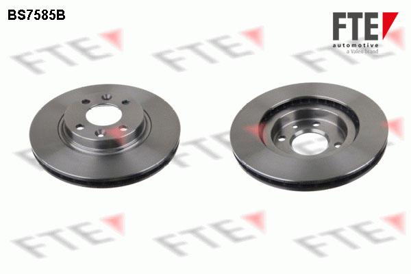 Disque de frein avant FTE BS7585B (X1)