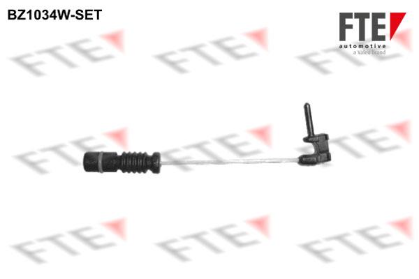 Temoin d'usure de frein FTE BZ1034W-SET (Jeu de 4)