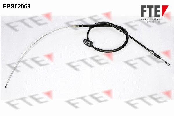 Cable de frein à main FTE FBS02068 (X1)